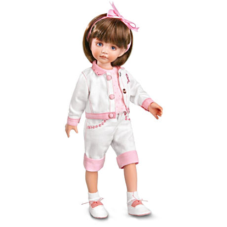 """Sisters Walk Together"" Breast Cancer Awareness Doll"