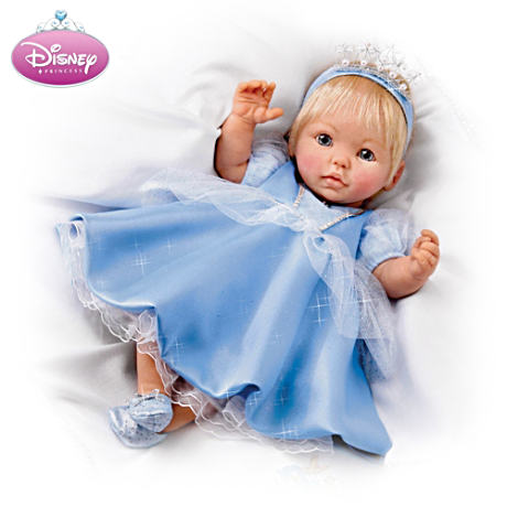 Musical, Movable Cinderella Baby Doll