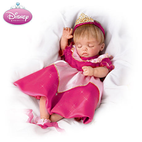Disney Lifelike Baby Doll Dressed Like Sleeping Beauty