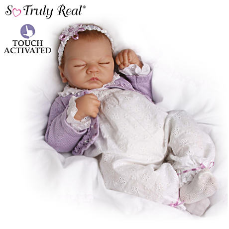 """Sweet Dreams"" Lifelike Breathing Emily Doll"