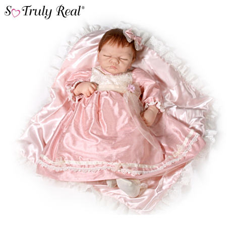 "Limited-Edition ""Emily"" Doll In Lifelike Silicone"