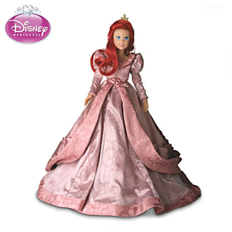 "Disney ""Princess Ariel"" Doll, Ball-Jointed For Easy Posing"