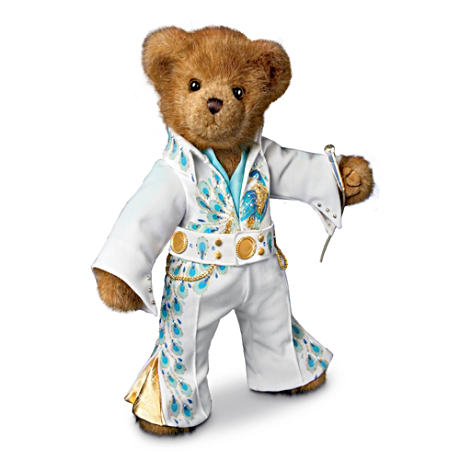 "The Elvis ""Viva"" Concert Outfit Teddy Bear"