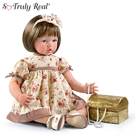 So Truly Real Granddaughter Doll With Treasure Chest