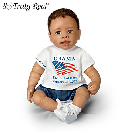 President Barack Obama Commemorative Baby Doll