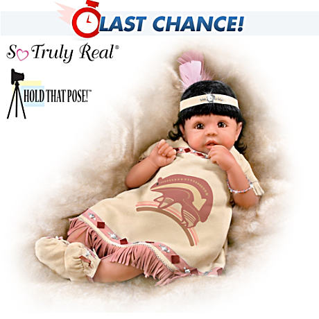 Native American-Inspired Baby Doll With Joe Yazzie Art