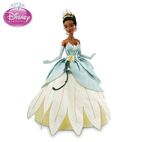 Princess Tiana Bayou Wedding Dress Articulated Doll
