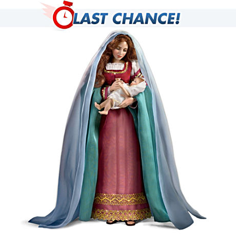 Madonna And Child By Renowned Artist Is Poseable