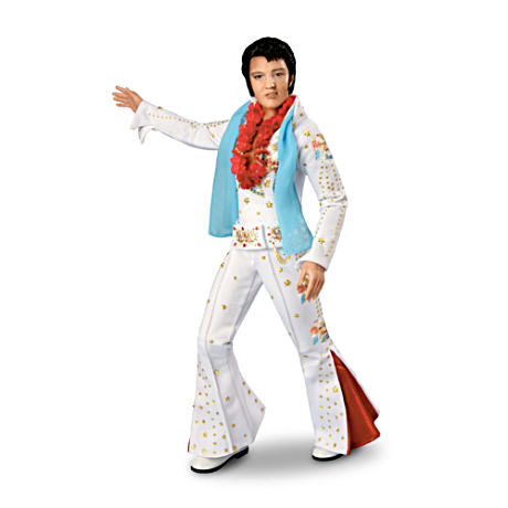 Elvis Presley Doll With Two Fan-Favorite Outfits
