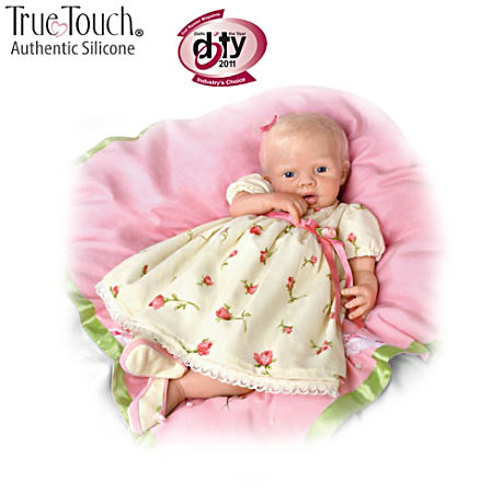 So Truly Soft Silique Baby Doll With 7-Piece Layette Set