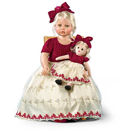 "Signature-Edition ""Faith And Hope"" Realistic Child Doll"