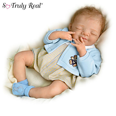 Lifelike Newborn Baby Boy Doll: Benjamin