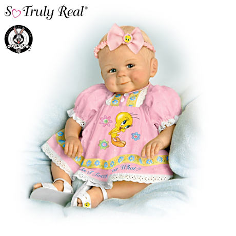 "Violet Parker Lifelike 13"" Baby Doll: Am I Tweet or What?"
