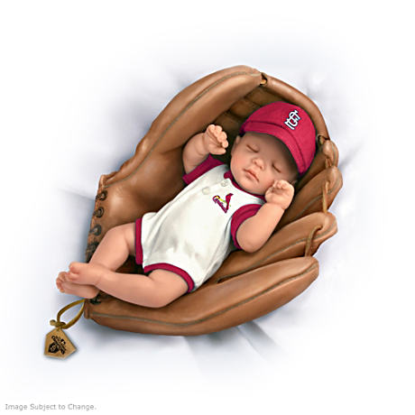 MLB  2011 World Series Champs St. Louis Cardinals Baby Doll