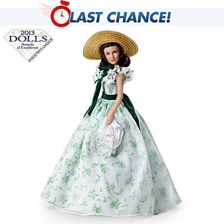 """Scarlett, Belle Of The Barbeque"" Talking Doll"
