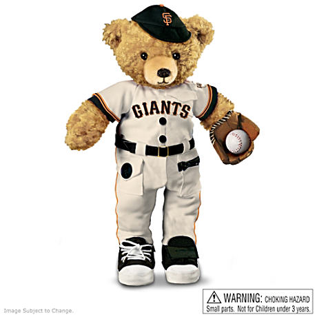 Interactive San Francisco Giants Coaching Teddy Bear