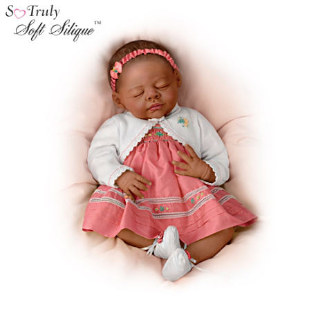 First-Ever African-American So Truly Soft Silique Baby Doll