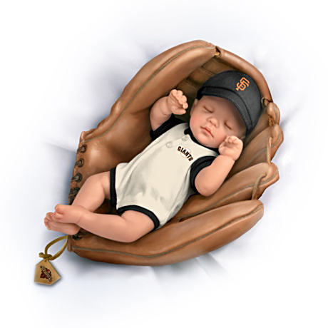 MLB  2012 World Series Champs San Francisco Giants Baby Doll