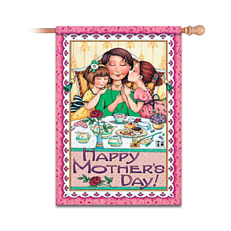 Mary Engelbreit Happy Mother's Day Flag