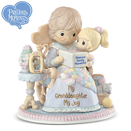 "Precious Moments ""My Granddaughter, My Joy"" Figurine"