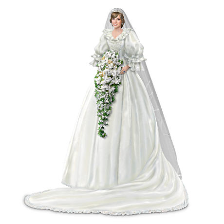 Princess Diana Commemorative Bride Figurine