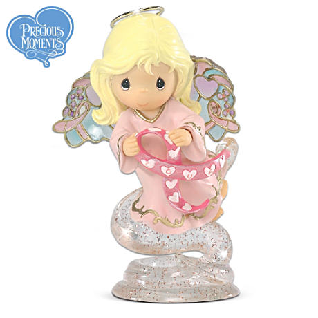 Precious Moments Angel With Stained-Glass-Style Wings