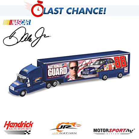 Dale Jr. National Guard Hauler
