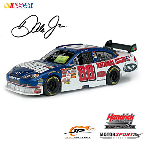 #88 Dale Earnhardt Jr. National Guard Autographed Diecast