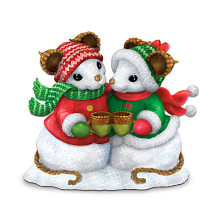 "Charming Tails ""Snowbody Warms My Heart Like You"" Figurine"