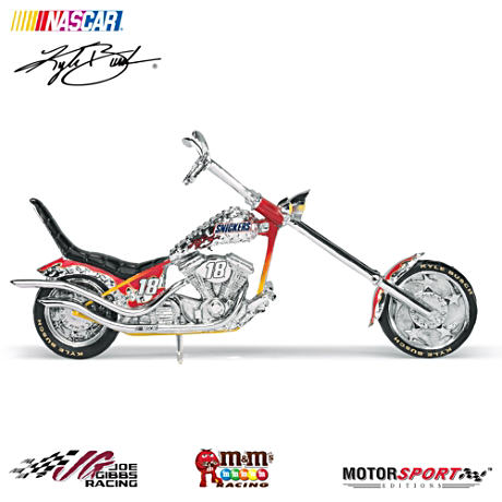 Kyle Busch SNICKERS Chopper With Replica Autograph