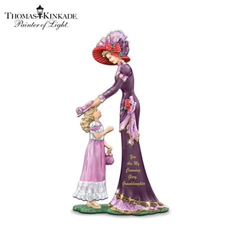 """You Are My Crowning Glory, Granddaughter"" Figurine"
