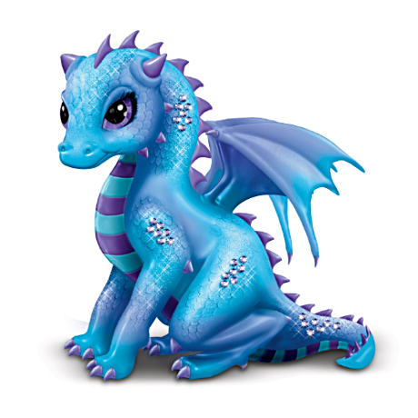 """Amethyst"" Jasmine Becket-Griffith Dragon Figurine"