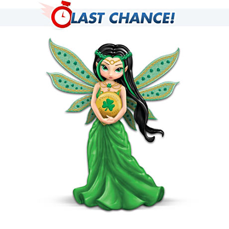 Jasmine Becket-Griffith Lucky Irish Charm Fairy Figurine