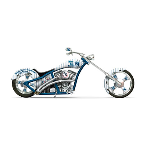 New York Yankees World Series Champs Motorcycle Figurine