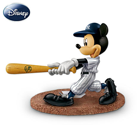 New York Yankees Disney Mickey Mouse Batter Figurine