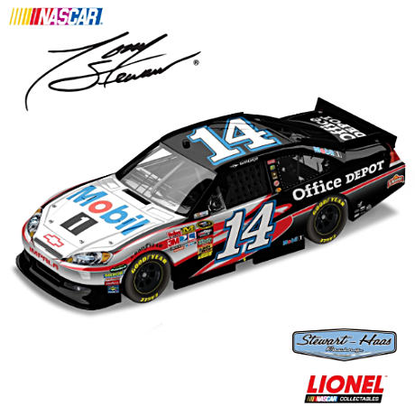 1:24-Scale Tony Stewart Mobil 1 Diecast Car