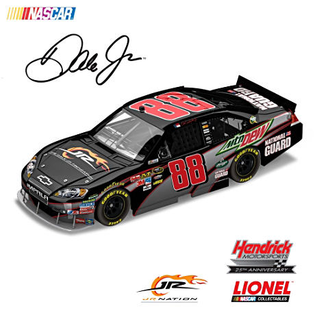 Dale Earnhardt Jr. #88 1:24-Scale National Guard Diecast