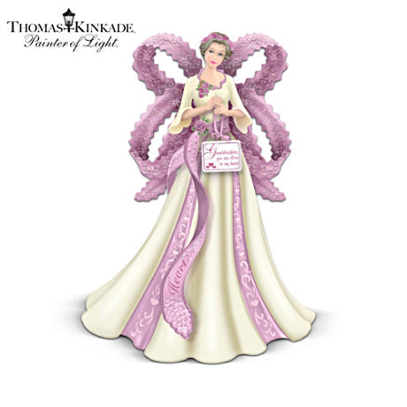 Thomas Kinkade Angel Figurine For Granddaughter