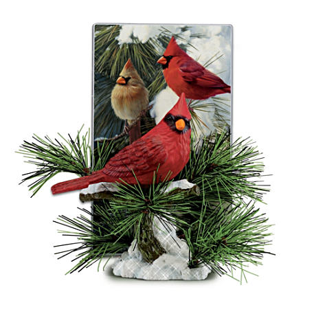 "James Hautman's ""America's Cardinals"" Figurine"