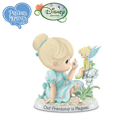 Precious Moments And Disney Tinker Bell Friendship Figurine