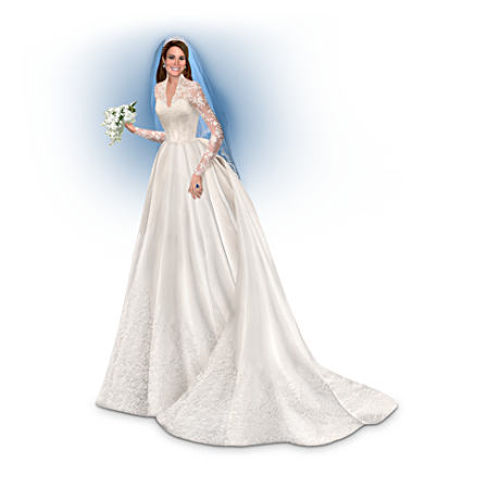 Catherine, The Royal Bride Commemorative Figurine