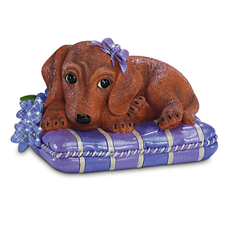 """Love Never Forgets"" Alzheimer's Awareness Dachshund"