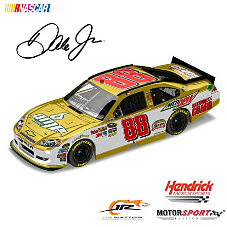 1:24 Scale Dale Jr. Bristol 50th Anniversary Diecast Car