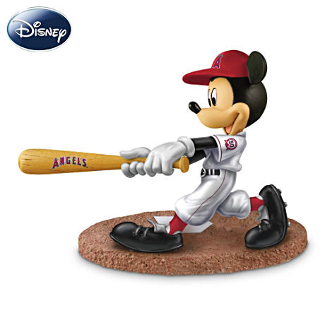 Los Angeles Angels Disney Mickey Mouse Batter Figurine