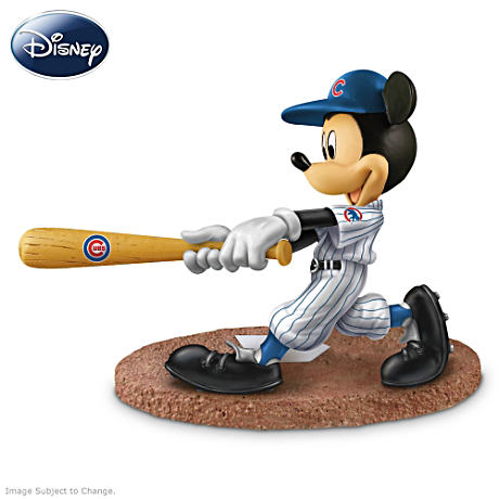 Chicago Cubs Disney Mickey Mouse Batter Figurine