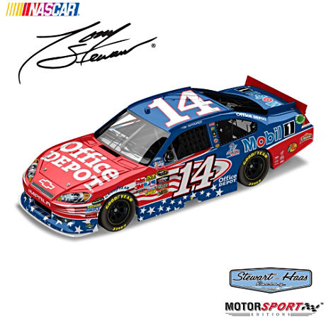 1:24-Scale Tony Stewart 9/11 Tribute Diecast Car