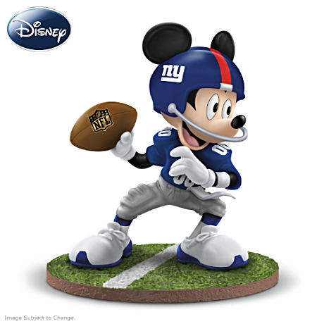Giants, The Super Bowl XLVI Champions: Mickey Mouse Figurine