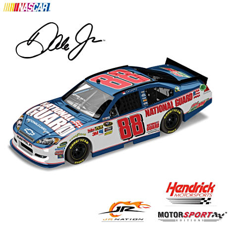 Dale Earnhardt Jr. No. 88 2012 National Guard Diecast Car