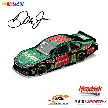 Dale Earnhardt Jr. No. 88 2012 AMP Energy Diecast Car