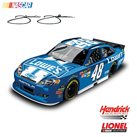 1:24-Scale Jimmie Johnson No. 48 2012 Lowe's Diecast Car